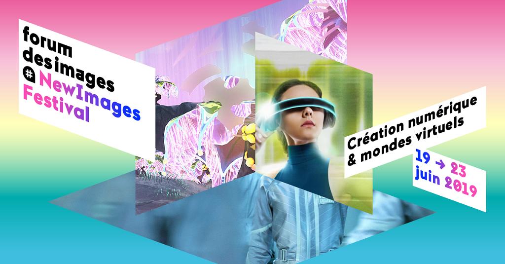 Affiche NewImages Festival 2019