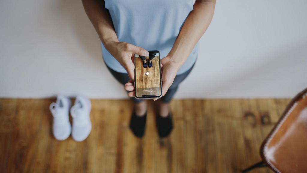 Outil de Nike en réalité augmentée