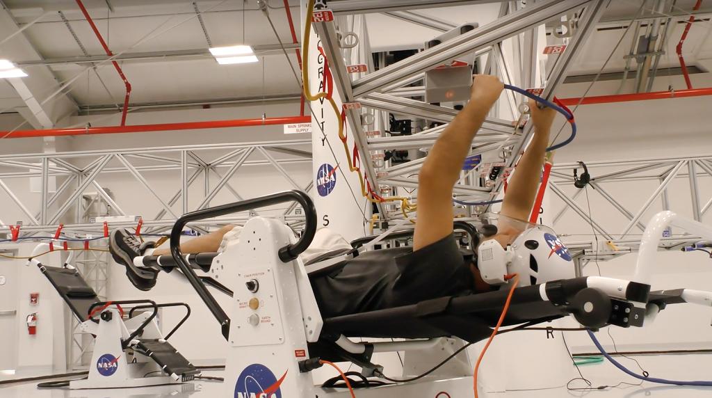 Simulation formation astronaute VR