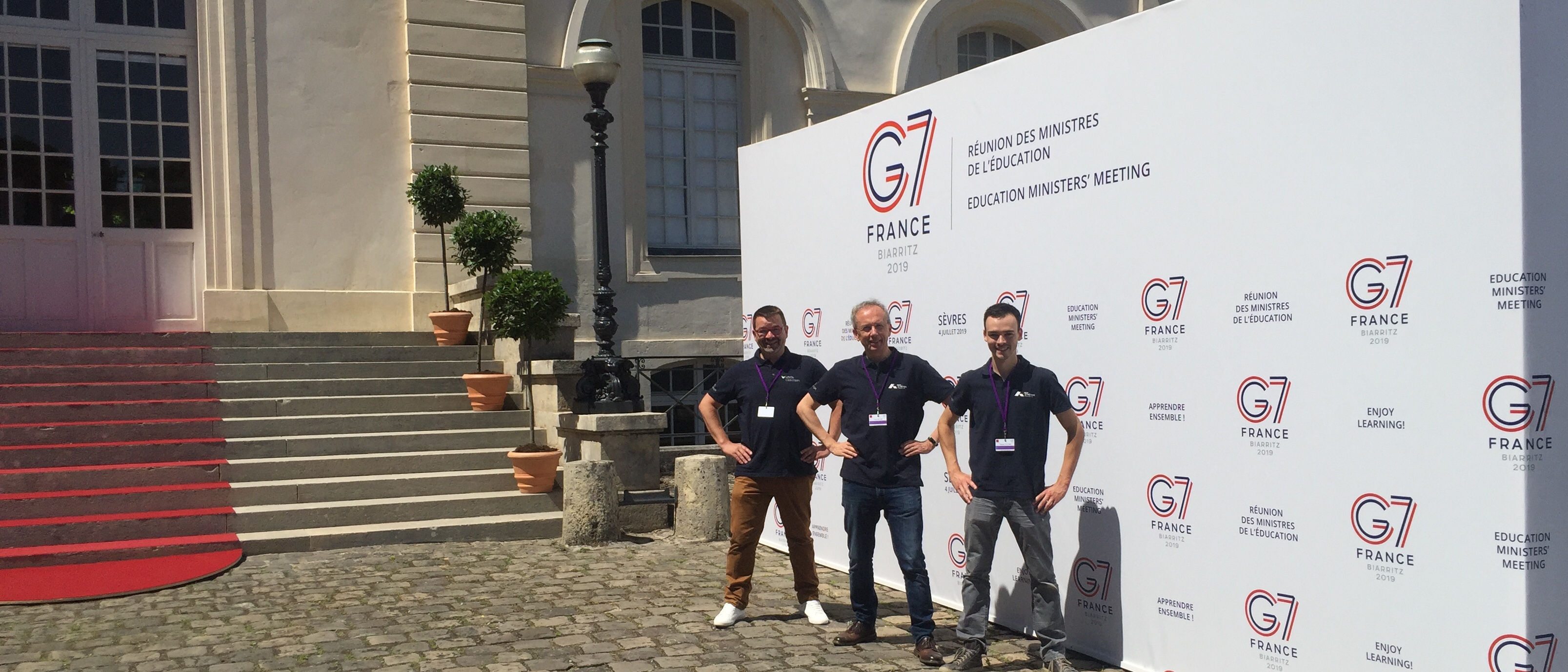 Laval Virtual et les Arts et Métiers à la réunion des ministres de l'éducation du G7