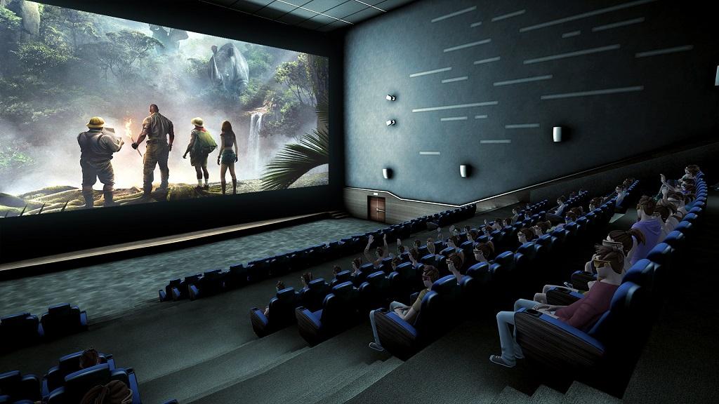 Salle de cinéma CineVR en réalité virtuelle par CINEMUR