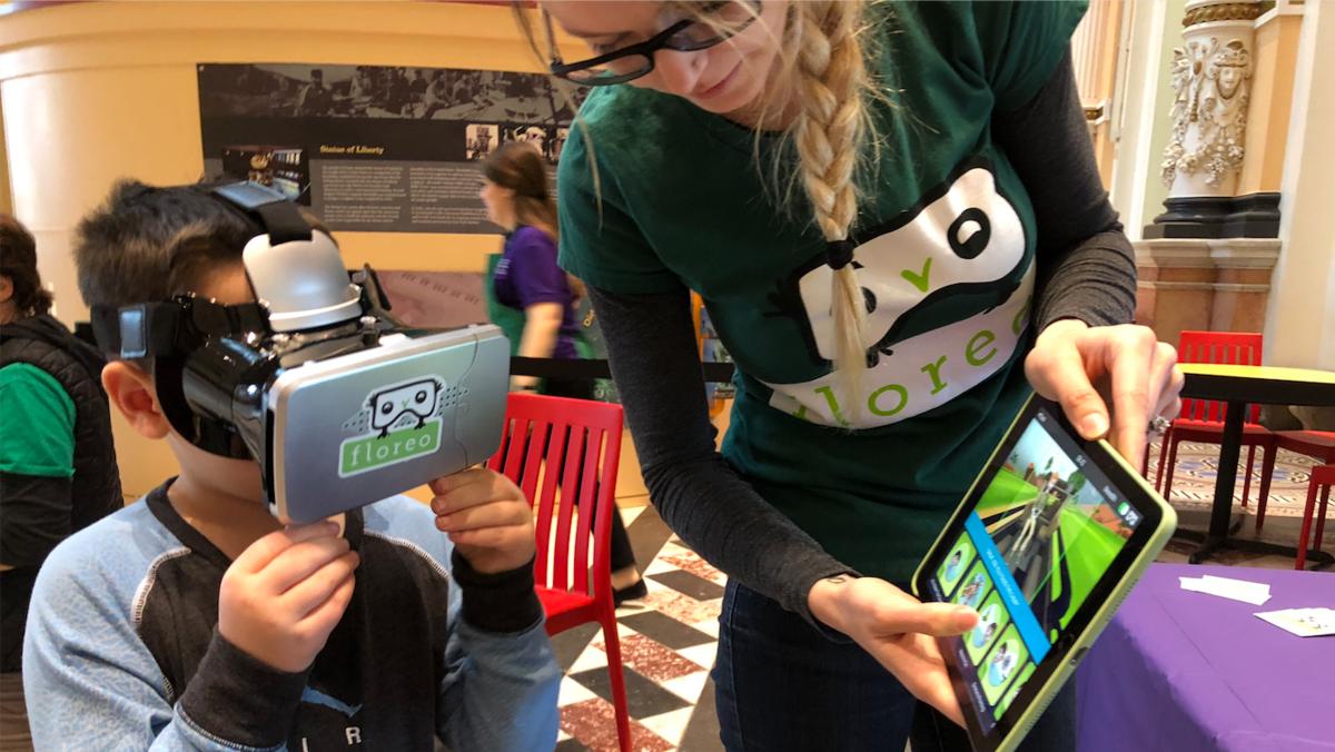 Application de réalité virtuelle Floreo pour les enfants autistes
