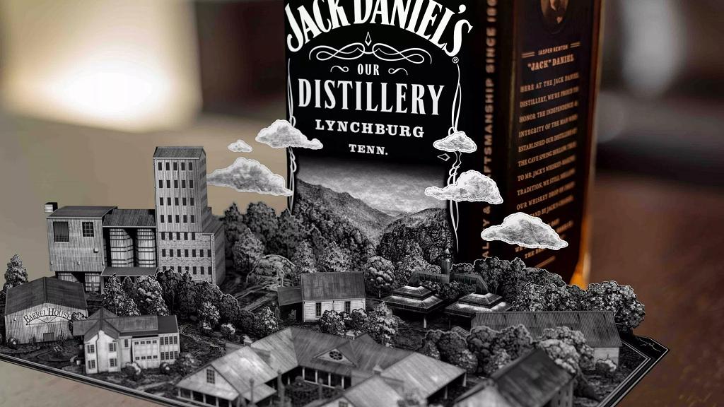 Jack Daniel's utilise la réalité augmentée pour le marketing de ses bouteilles