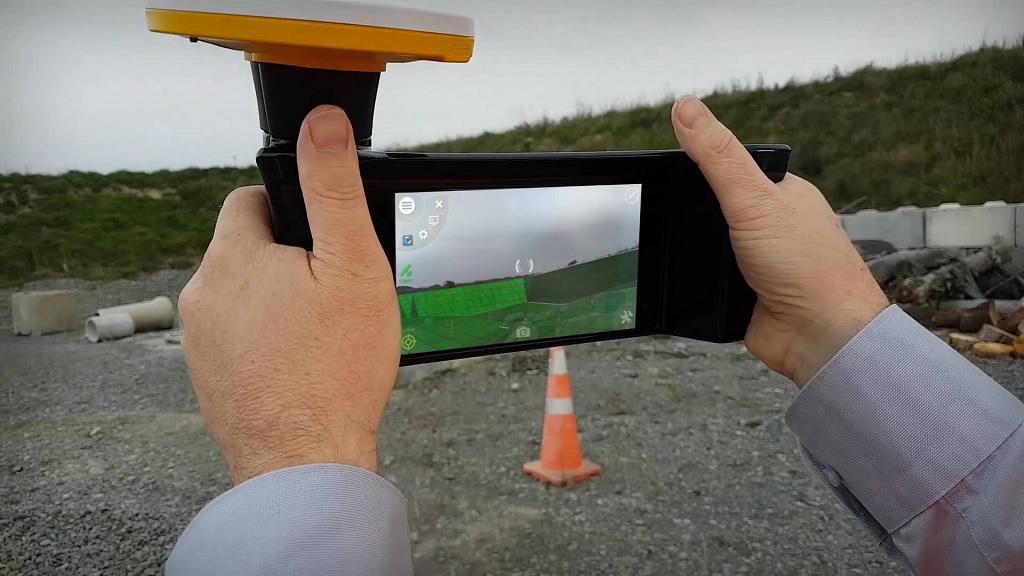 Outil de réalité augmentée Trimble pour la construction de chantiers