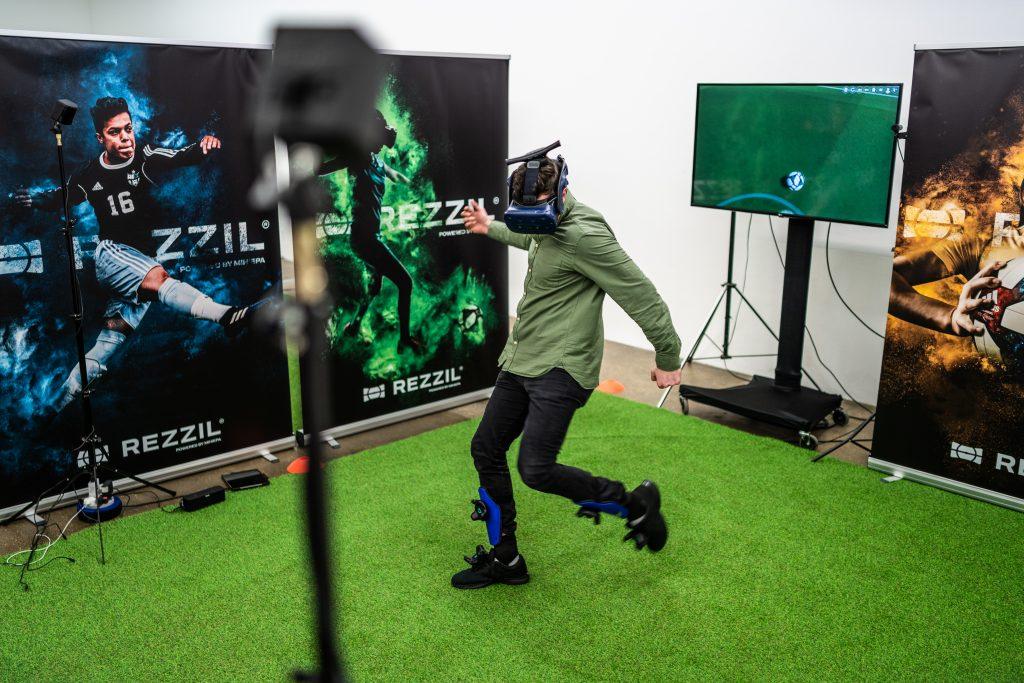 Rezzil, un outil de réalité virtuelle pour le football professionnel
