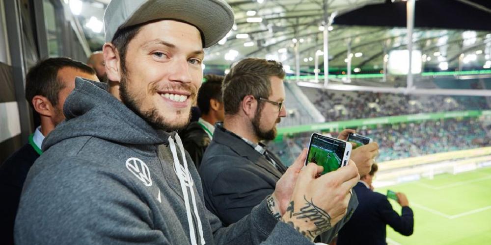 La 5G et la réalité augmentée pour un nouveau type de match de football