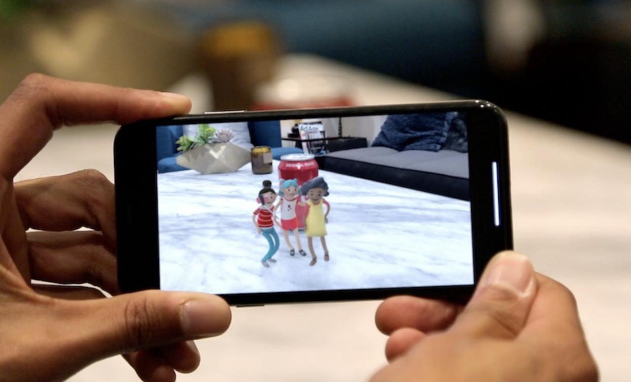 La nouvelle application de réalité augmentée pour débloquer du contenu Coca-Cola