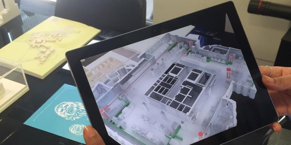 La réalité augmentée pour construire les hôpitaux
