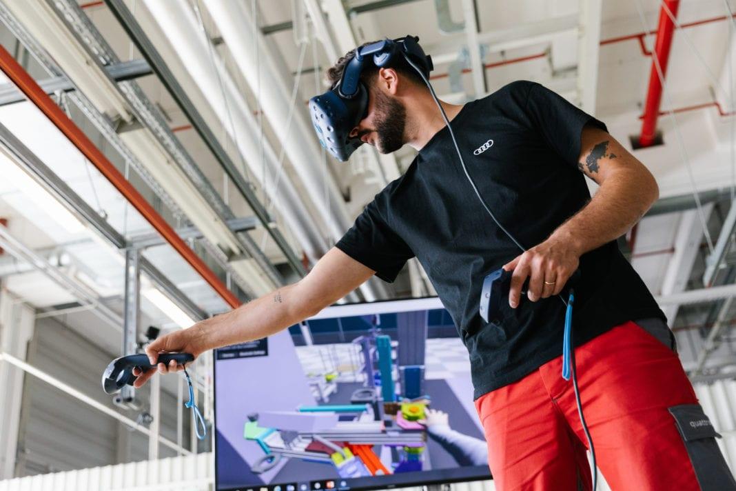 Audi utilise la réalité virtuelle pour assembler son concept-car