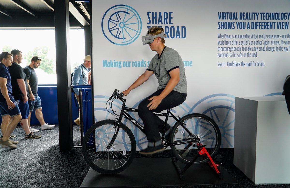 La réalité virtuelle pour se mettre à la place des cyclistes