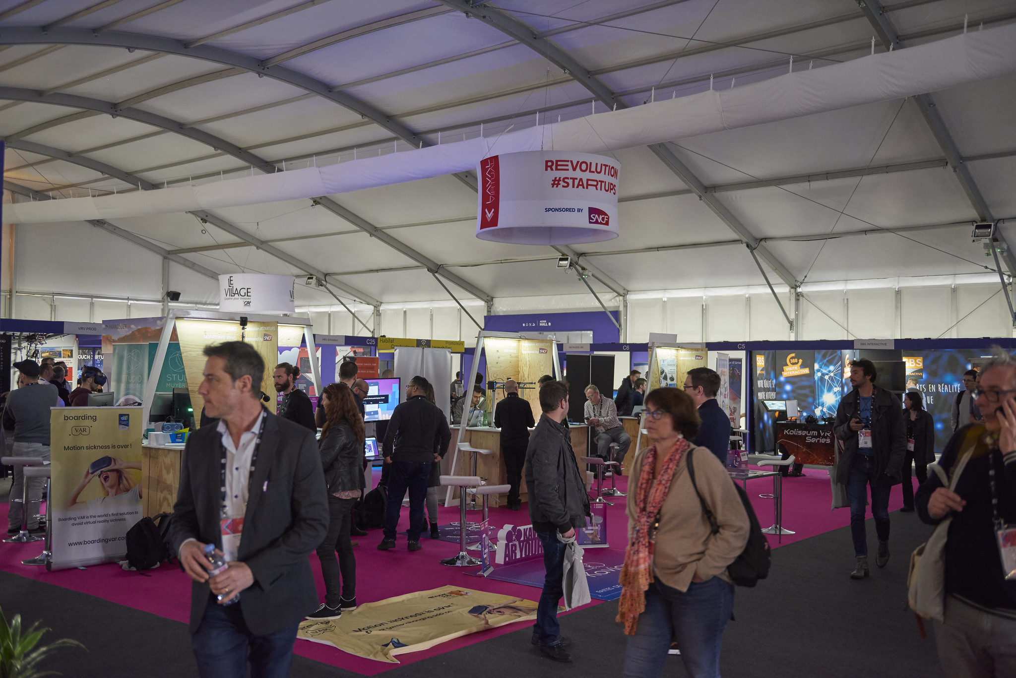 La SNCF au salon de la VR/AR Laval Virtual 2019