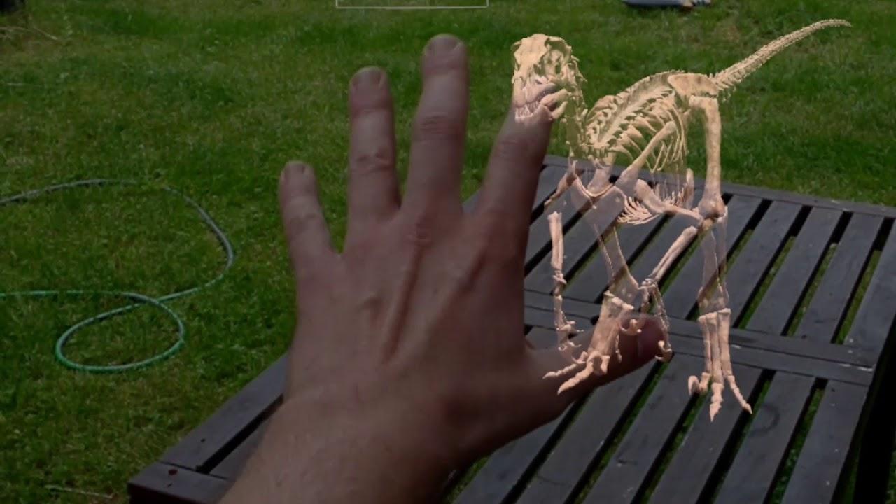 Dinosaur Kit, l'application AR pour découvrir les dinosaures de Magic Leap