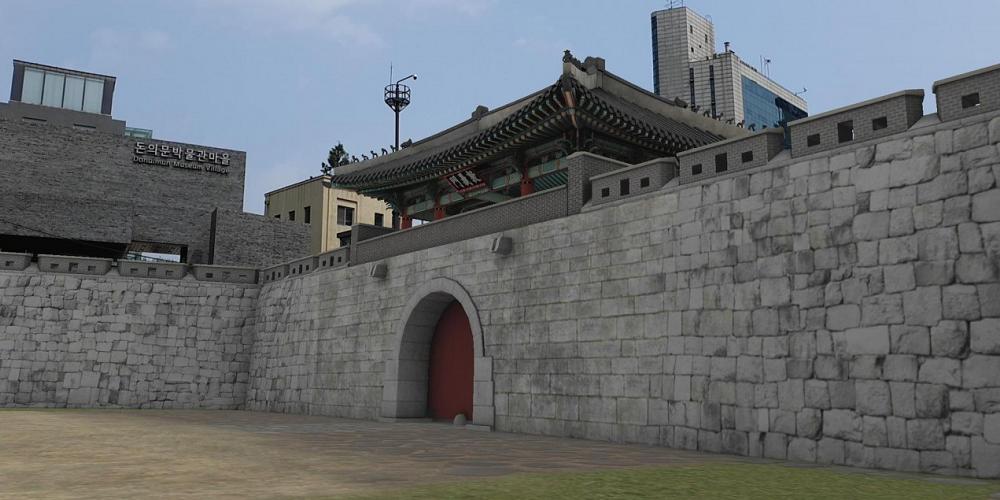Une porte disparue en Corée du Sud a été recrée grâce à la réalité virtuelle