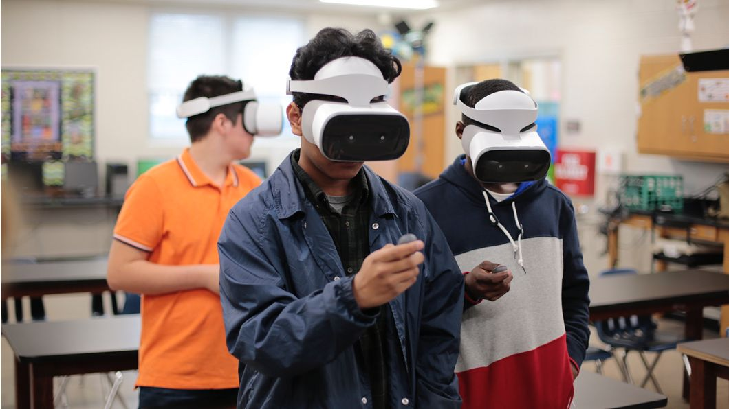 Virtual reality used for education