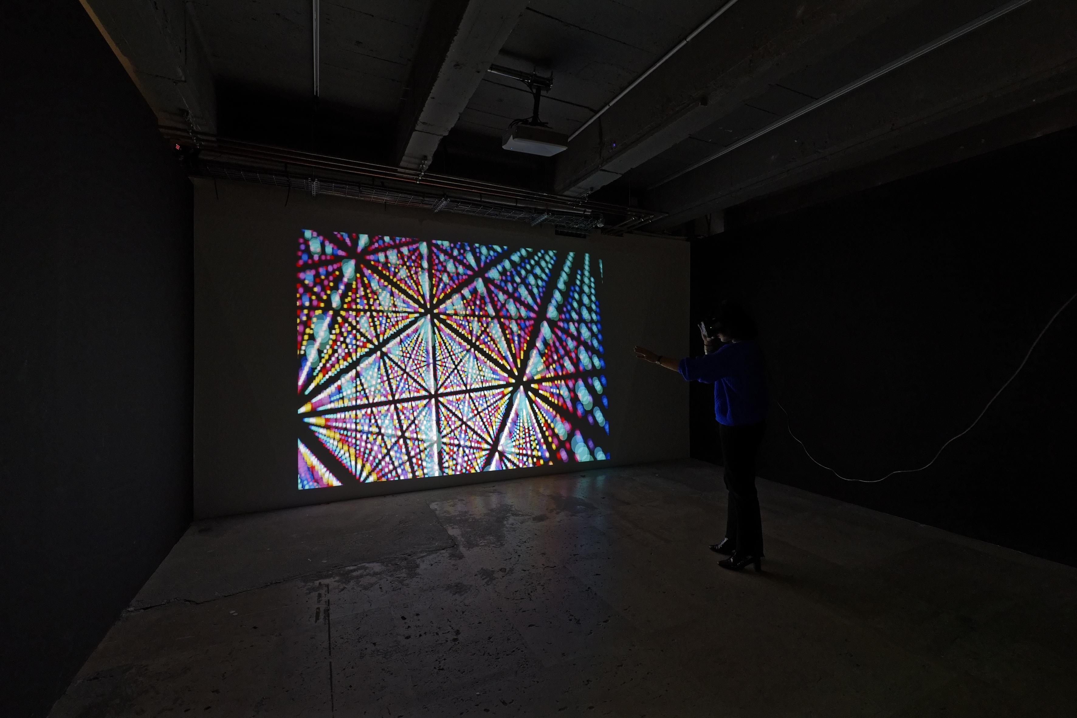 7 Alchimies en VR, l'oeuvre d'art numérique de Juan Le Parc