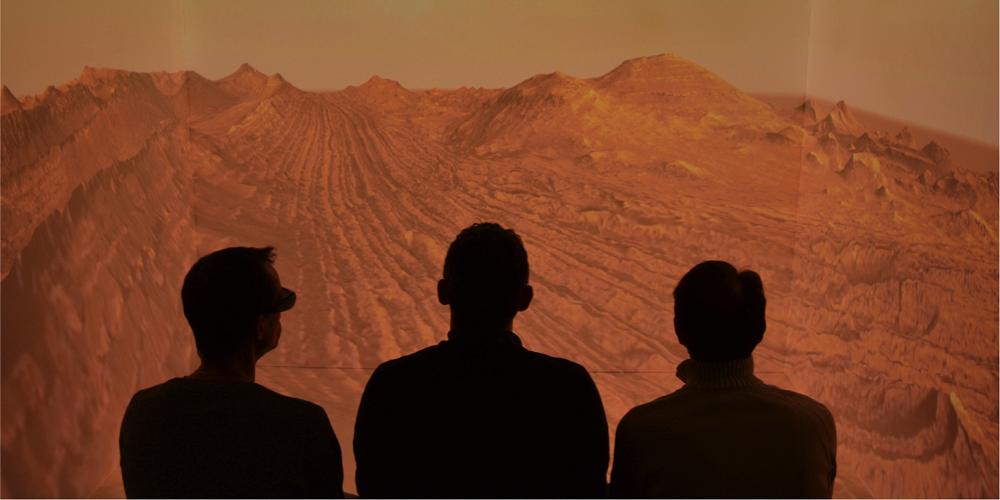 Des scientifiques ont recréé une partie de Mars en réalité virtuelle