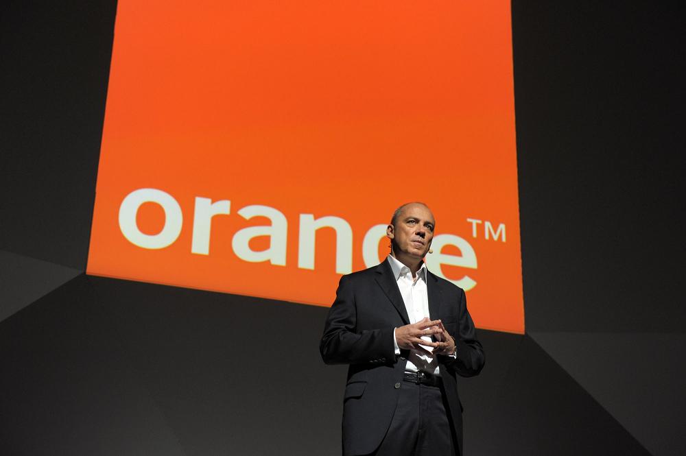 Le PDG d'Orange Stéphane Richard a parlé de la 5G à Médias en Seine