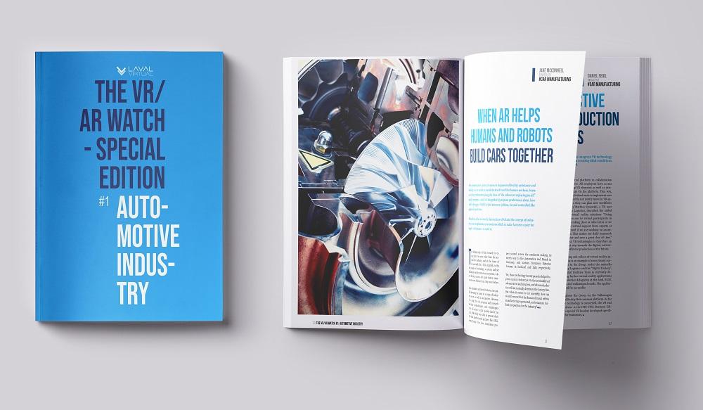 Magazine VR/AR sur l'automobile