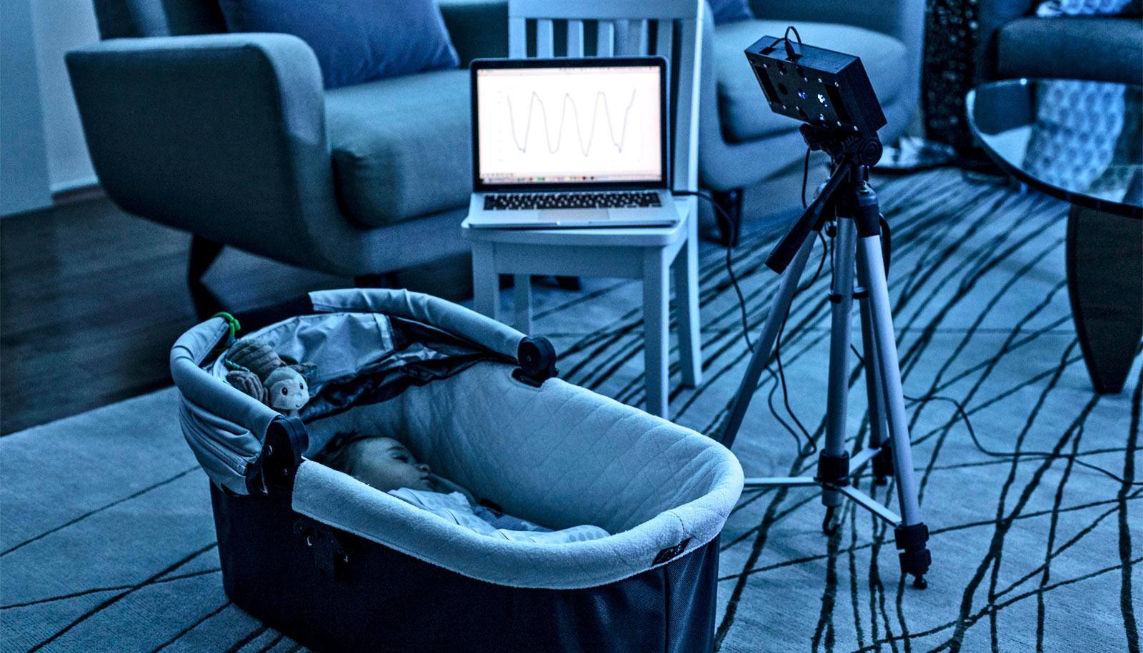 L'enceinte BreathJunior pour endormir les nourrissons
