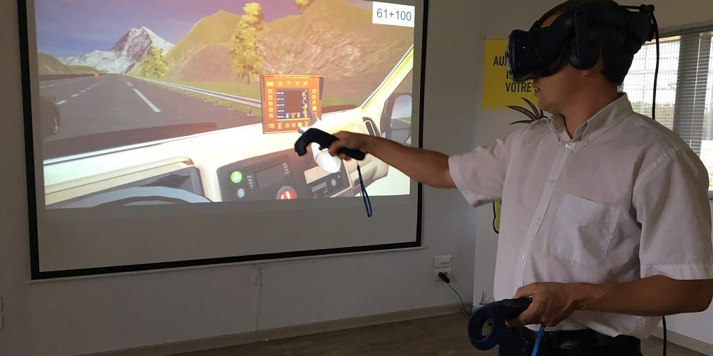 Une formation en réalité virtuelle pour les patrouilleurs d'autoroute