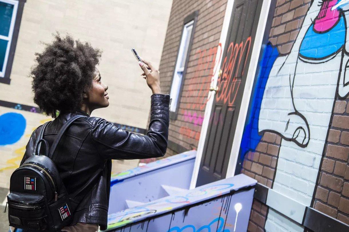Des graffitis en réalité augmentée