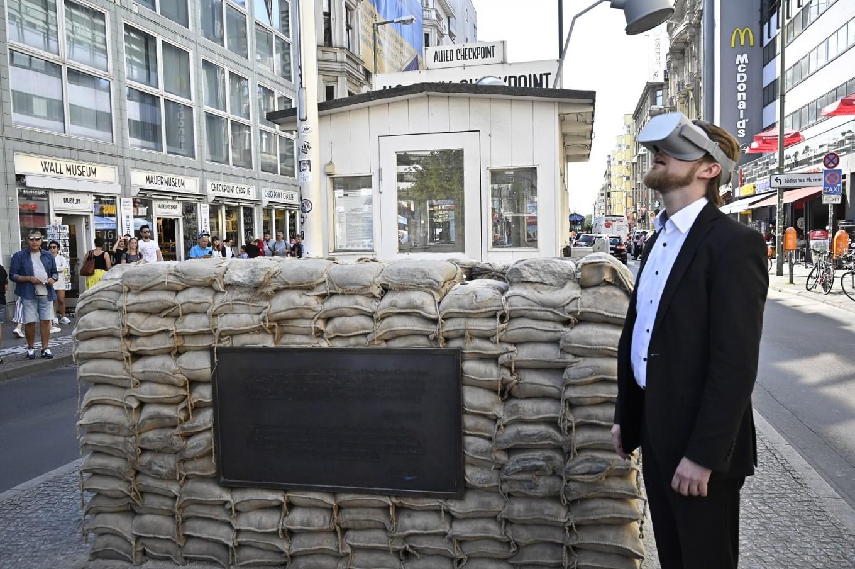 Le mur de Berlin recréé en réalité virtuelle