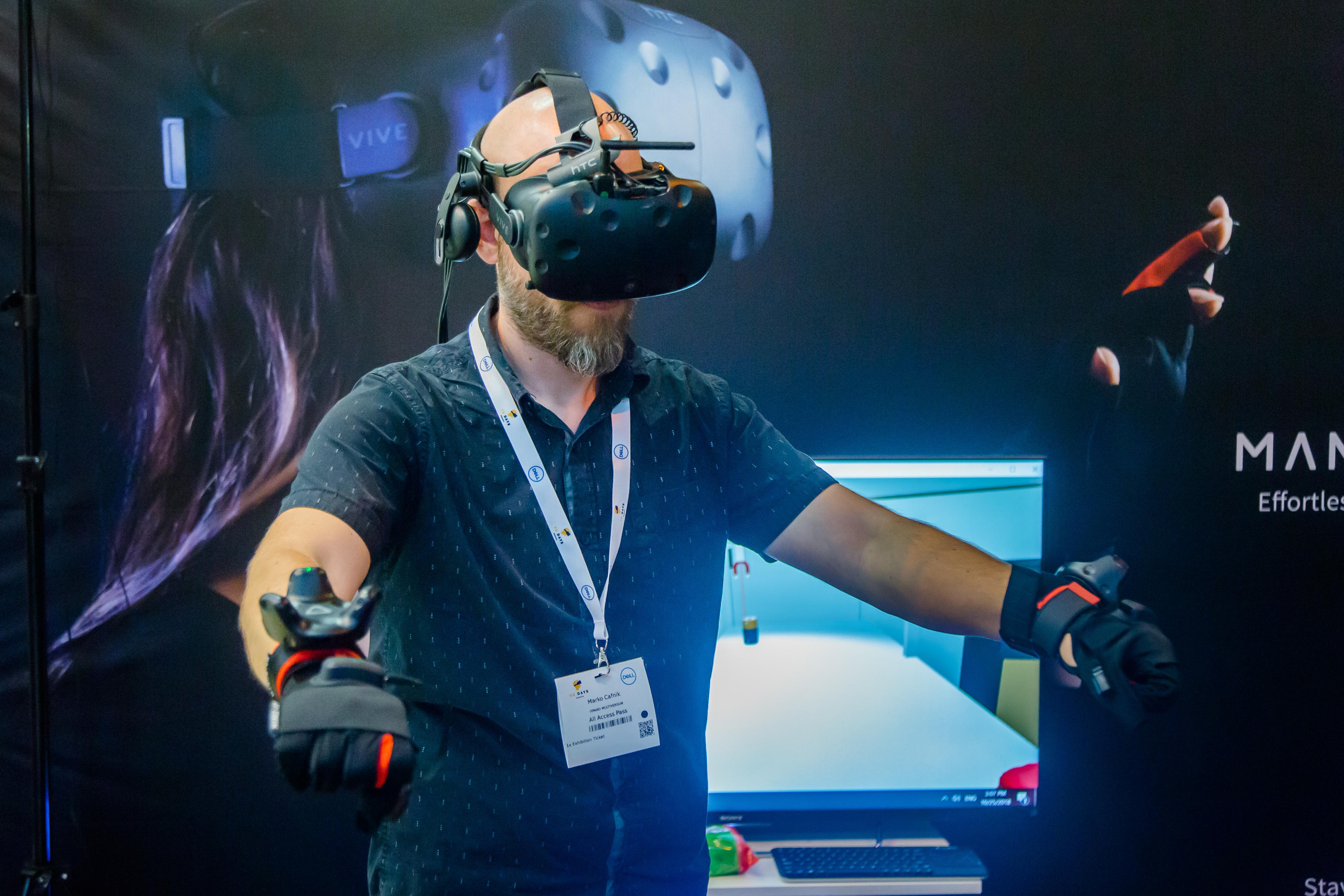 Des technologies connexes comme l'haptique pour faire avancer la VR aux VR Days