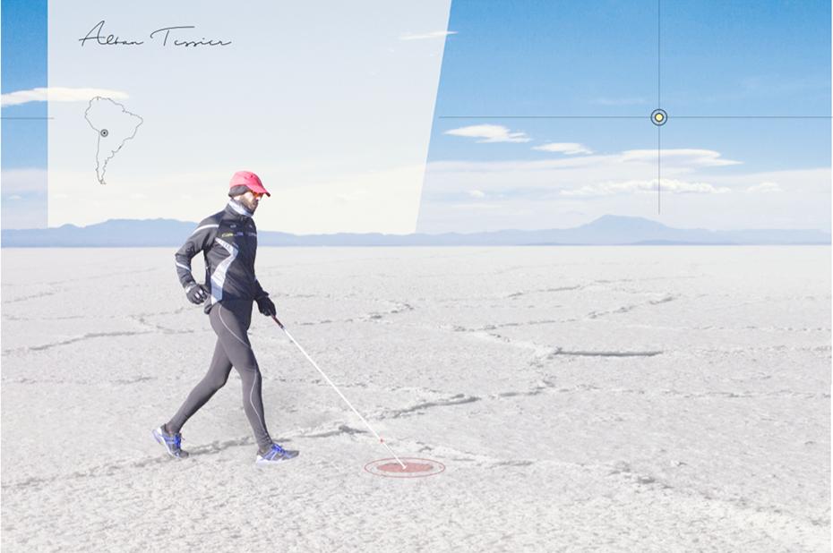 GoSense est une solution technologique utilisant la réalité augmentée pour les personnes en situation de handicap visuel