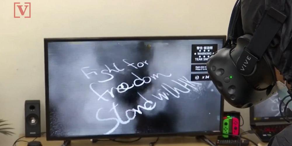 Un programme de réalité virtuelle pour vivre les manifestations à Hong-Kong