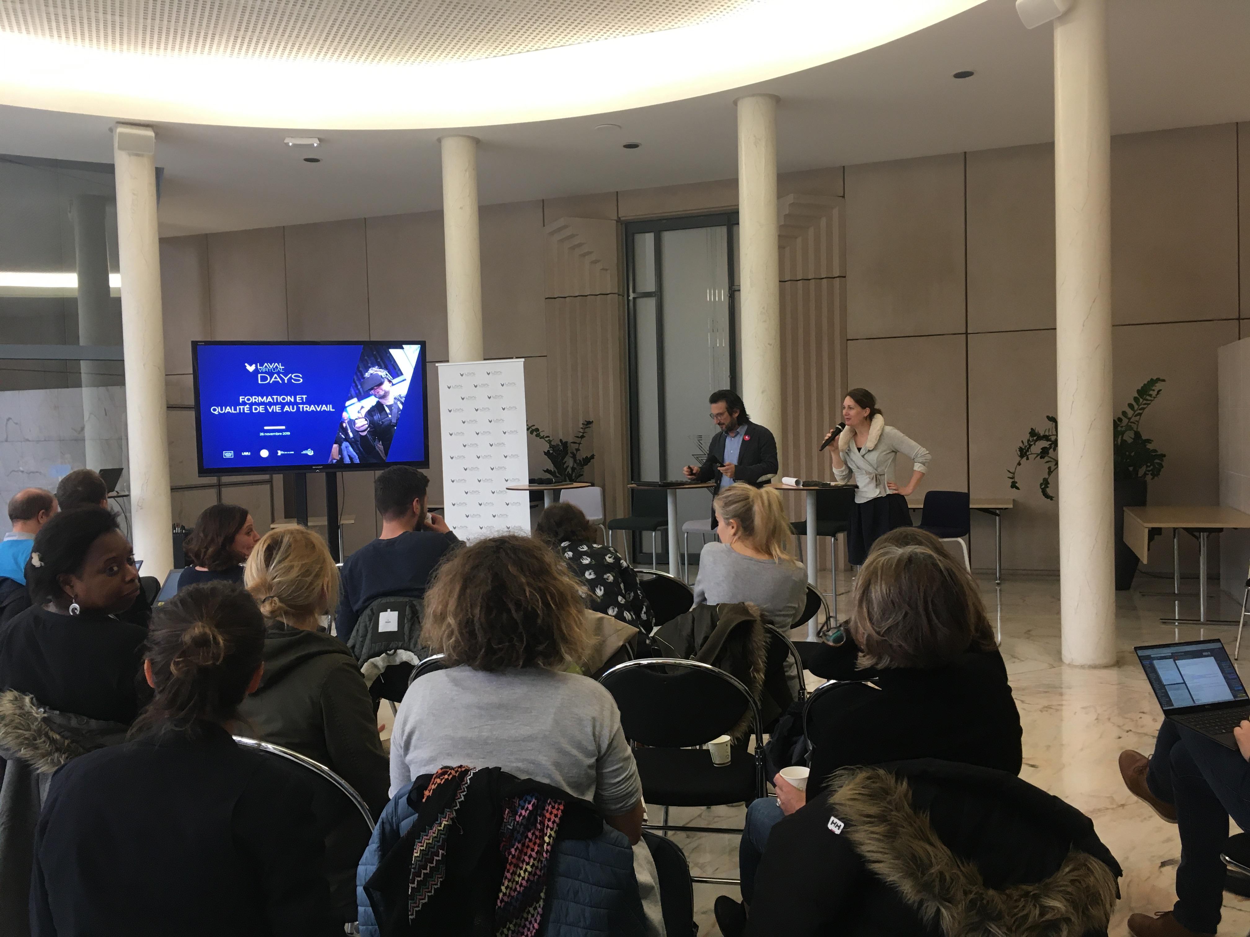 Les conférences aux Laval Virtual Days sur la formation