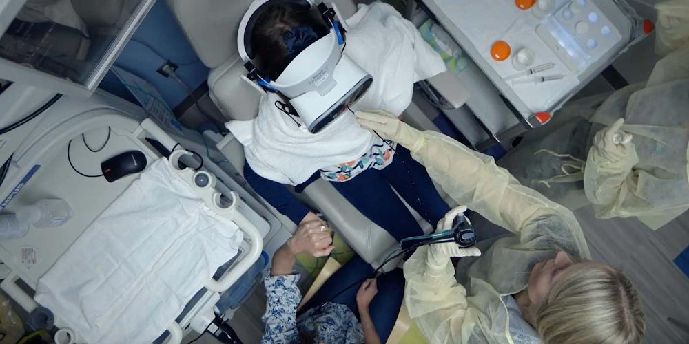 La réalité virtuelle remplace l'anesthésie à l'hôpital des enfants