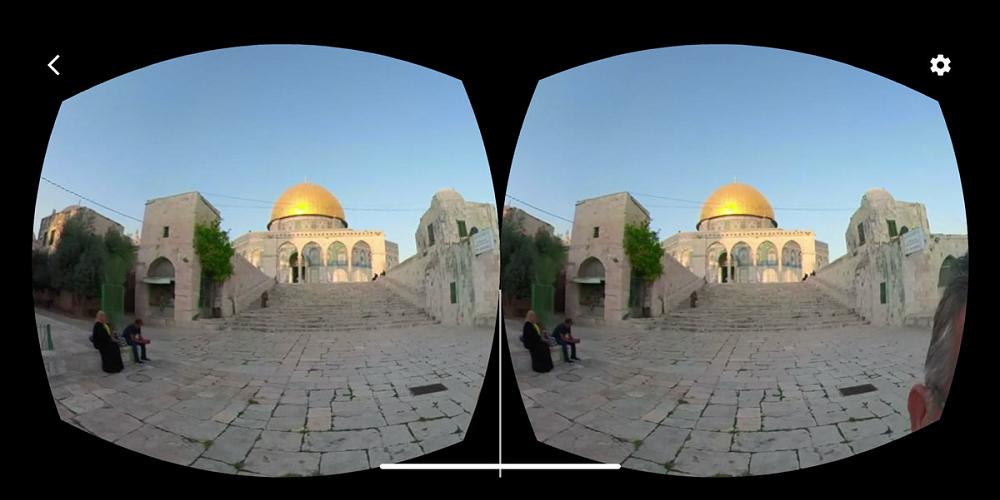 Palestine VR, au coeur du pays en réalité virtuelle