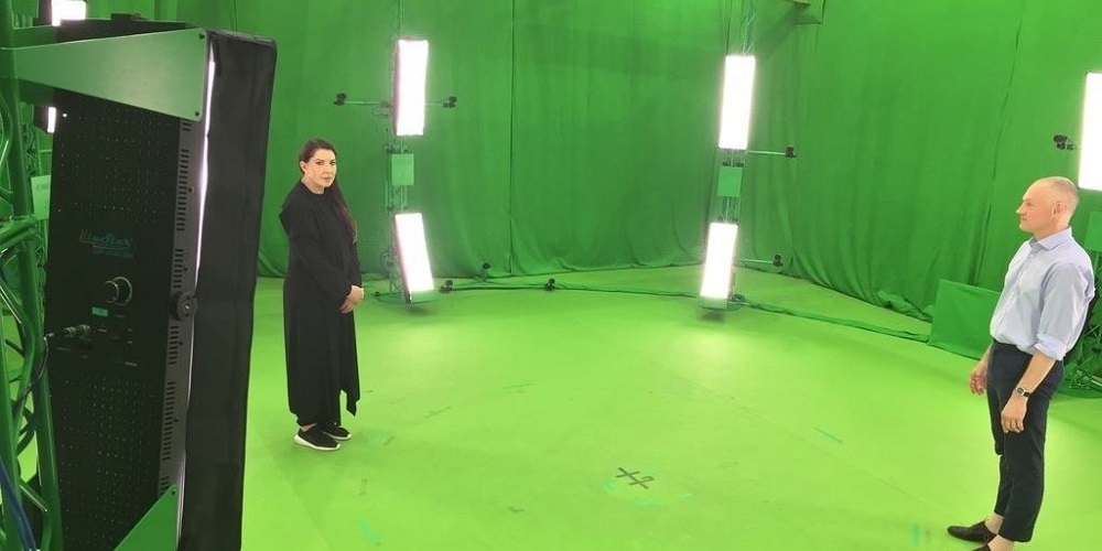 Marina Abramovic a immortalisé sa performance en réalité virtuelle