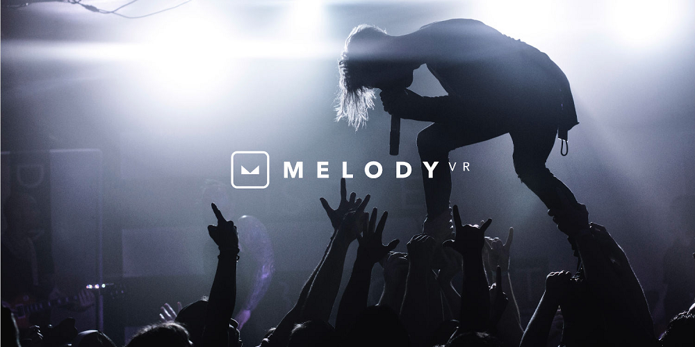 MelodyVR permet de vivre des concerts en réalité virtuelle depuis chez soi