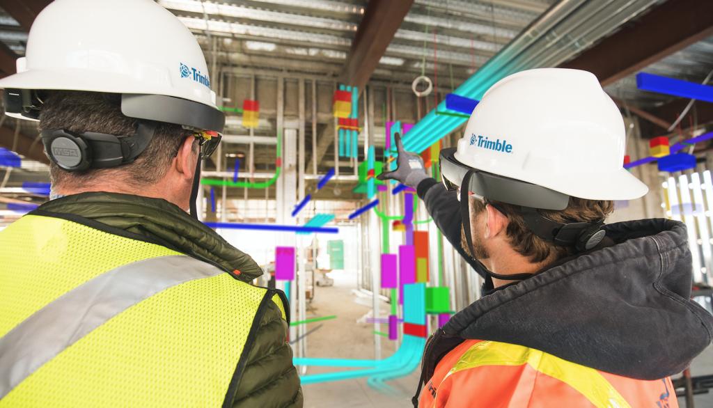 La solution Trimble Connect pour visualiser les données sur les sites de construction