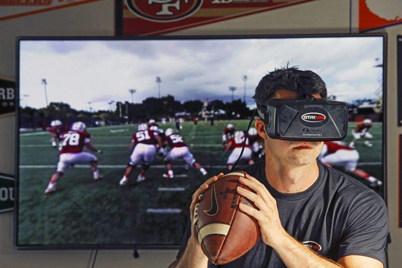 La rééducation d'un quarterback en réalité virtuelle