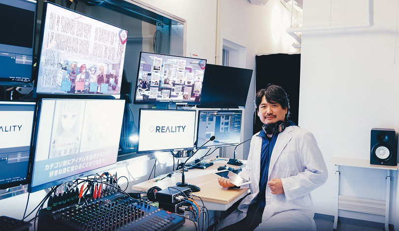 Akihiko Shirai, ambassadeur des VTubeurs au Japon