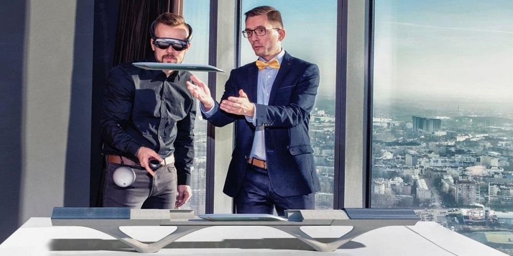 Pour concevoir le projet de l'Hyperloop, la réalité augmentée a été utilisée