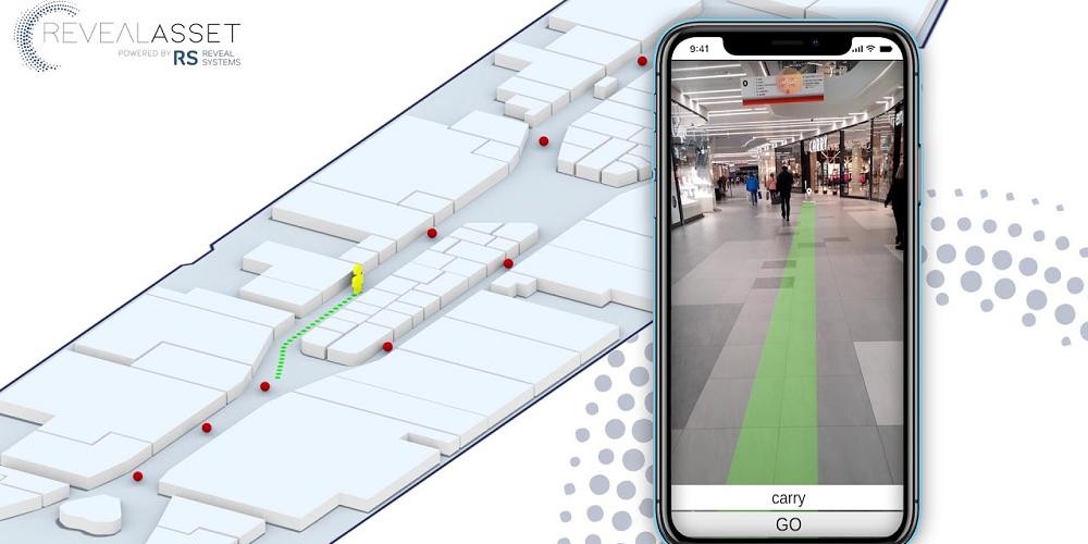 La navigation dans les centres commerciaux en réalité augmentée