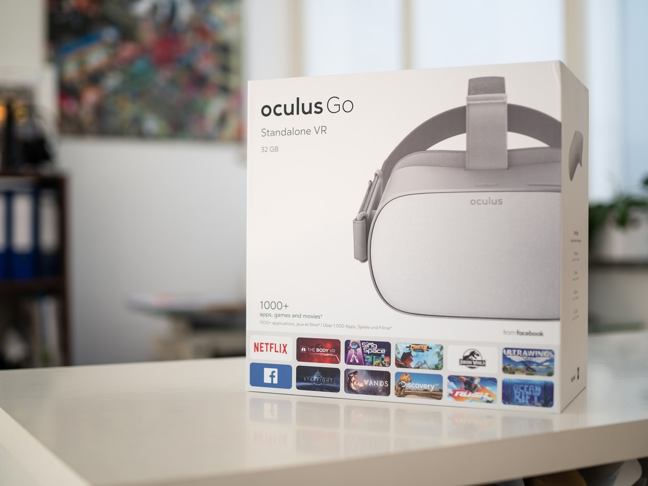 Oculus Go, one of the virtual reality standalone headset