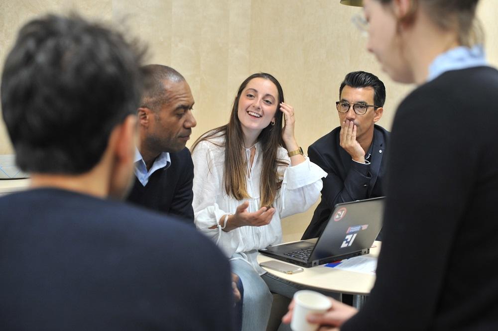 Marie Alméras, directrice déléguée de la stratégie et de l'innovation à la Croix-Rouge