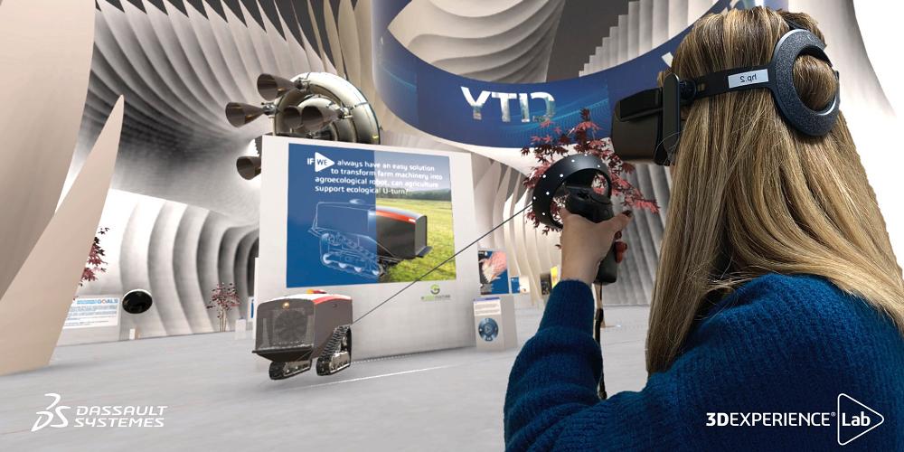 Le musée de l'innovation de Dassault Systèmes en réalité virtuelle