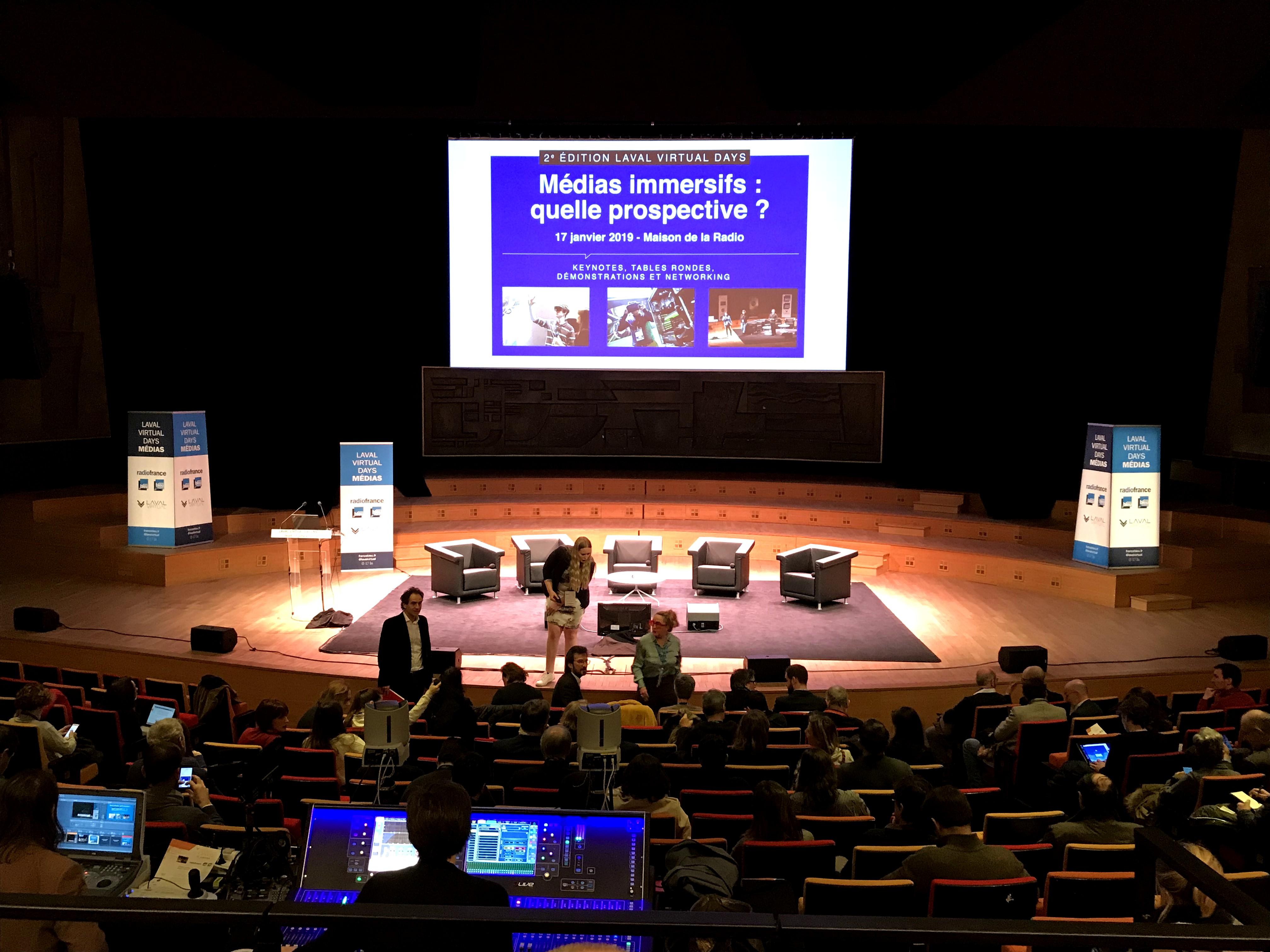 L'édition 2019 des Laval Virtual Days Médias & Réalité Virtuelle