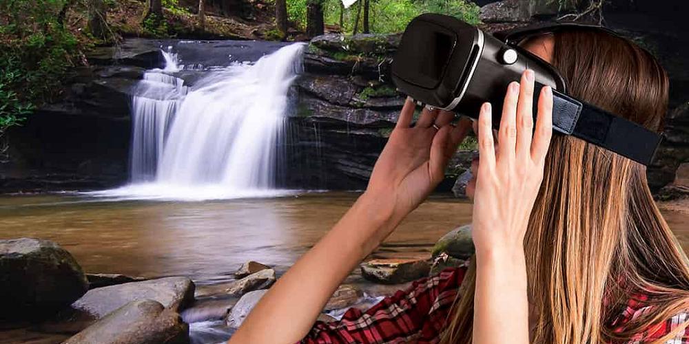 Expérience de randonnée en réalité virtuelle