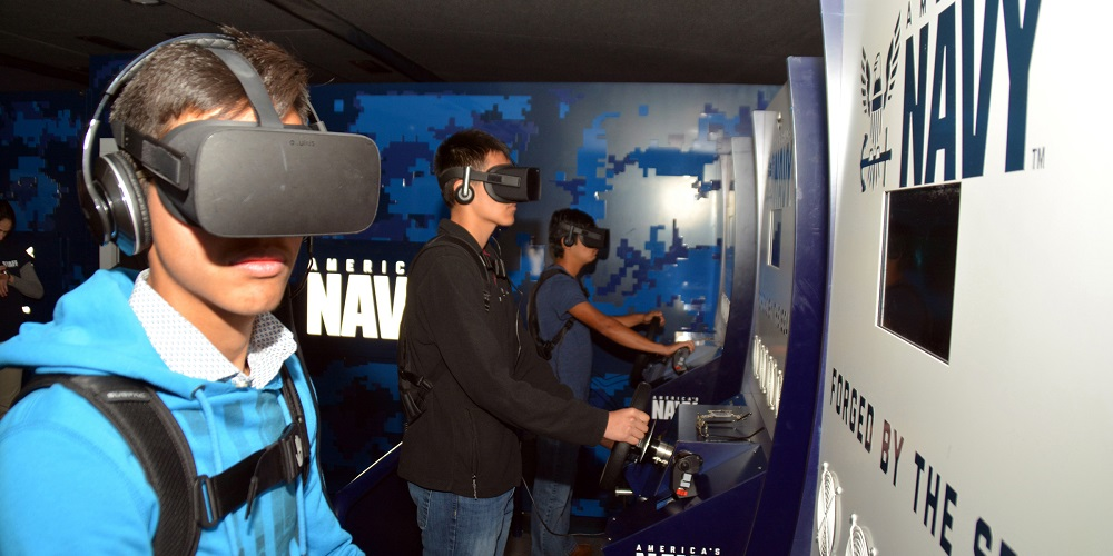 Un programme d'éducation en VR pour éduquer des étudiants sur la profession de soldat