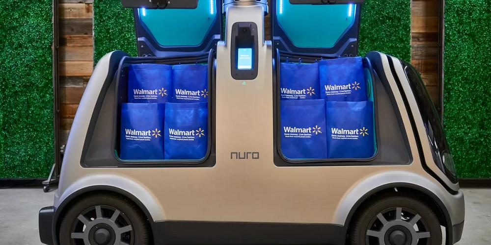 Des courses en livraison grâce à des navettes autonomes
