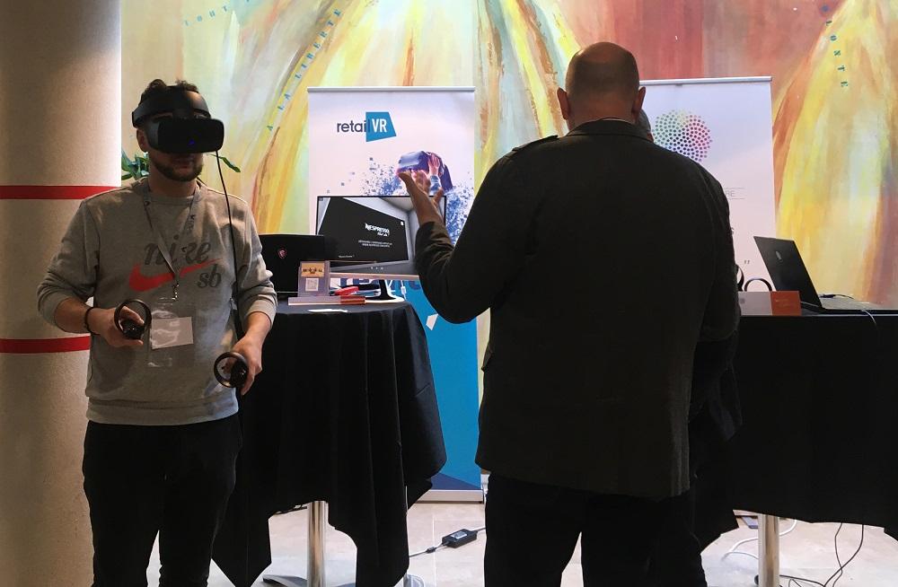Les Laval Virtual Days ont permis de voir les usages VR/AR dans le retail