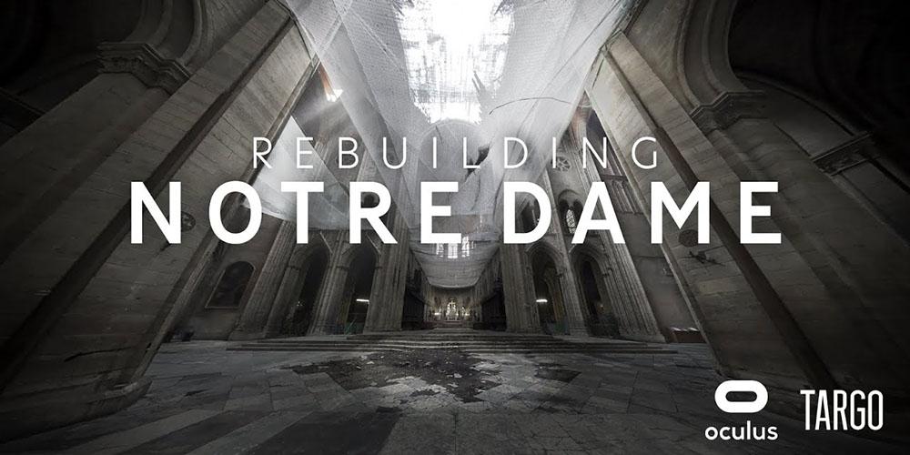 La reconstruction de Notre-Dame-de-Paris visible en réalité virtuelle
