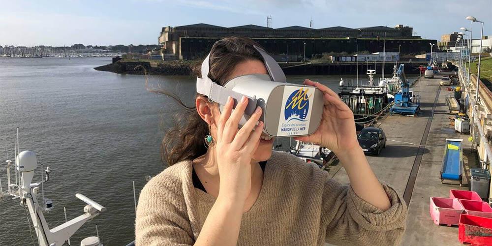 Une expérience de réalité virtuelle pour découvrir l'industrie de la pêche à Lorient