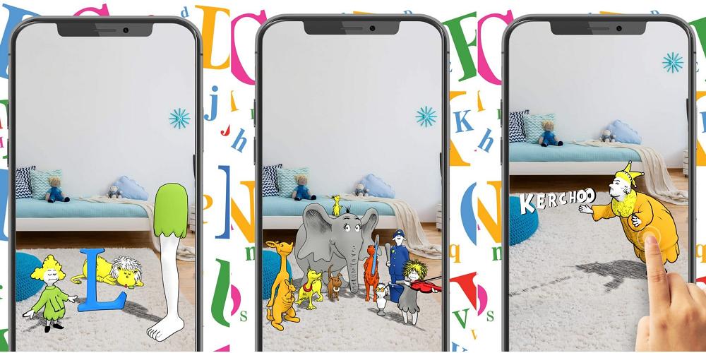 Une application de réalité augmentée pour les enfants pour l'apprentissage de la lecture